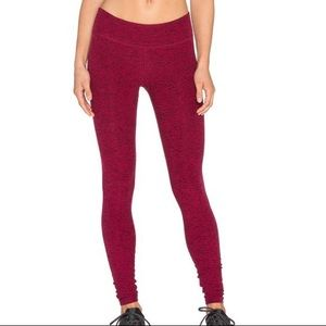 Beyond Yoga Women's Wine Spacedye Jersey Legging